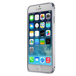 Чехол G-Case Ultra Thin Aluminium Bumper для Apple iPhone 6 (темно-серый, алюминиевый)