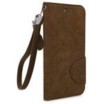 Чехол X-doria Dash Folio Fruit case для Apple iPhone 6 plus (коричневый, кожаный)