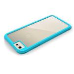Чехол G-Case Shock Resistant Crystal Series для Apple iPhone 6 (голубой, пластиковый)