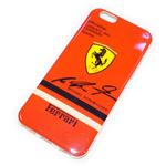 Чехол Yotrix CreativeCase для Apple iPhone 6 (Ferrari, гелевый)