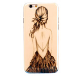 Чехол Yotrix CreativeCase для Apple iPhone 6 (Girl, гелевый)