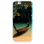 Чехол Yotrix CreativeCase для Apple iPhone 6 (Boat, гелевый)