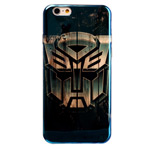 Чехол Yotrix CreativeCase для Apple iPhone 6 (Transformers, гелевый)