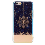 Чехол Yotrix CreativeCase для Apple iPhone 6 (Snowflake, гелевый)