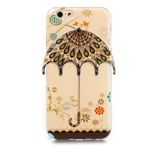 Чехол Yotrix CreativeCase для Apple iPhone 6 (Light Umbrella, гелевый)