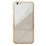 Чехол Seedoo Mag Plating case для Apple iPhone 6 (золотистый, пластиковый)