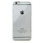 Чехол Seedoo Mag Plating case для Apple iPhone 6 (серебристый, пластиковый)