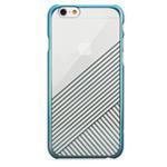 Чехол Seedoo Mag Plating case для Apple iPhone 6 (голубой, пластиковый)