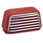 Портативная колонка Tree-Labs Toaster (темно-красная, беcпроводная, стерео)