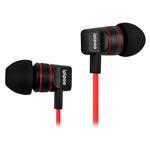 Наушники ipipoo super bass iP-A200Hi (черный/красный, пульт/микрофон, 20-20000 Гц, 10 мм)