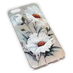 Чехол Yotrix Aquarelle для Apple iPhone 6 (Chamomiles, пластиковый)