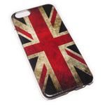 Чехол Yotrix Aquarelle для Apple iPhone 6 (UK Flag, пластиковый)