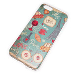 Чехол Yotrix Aquarelle для Apple iPhone 6 plus (Love Paris, пластиковый)