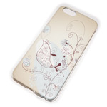 Чехол Yotrix Aquarelle для Apple iPhone 6 plus (Nightingale, пластиковый)