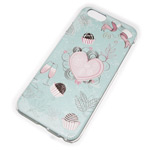 Чехол Yotrix Aquarelle для Apple iPhone 6 (Heart party, пластиковый)