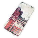 Чехол Yotrix Aquarelle для Apple iPhone 6 (Industrial, пластиковый)