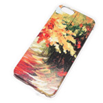 Чехол Yotrix Aquarelle для Apple iPhone 6 (Autumn, пластиковый)