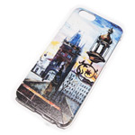 Чехол Yotrix Aquarelle для Apple iPhone 6 (Tower and light, пластиковый)