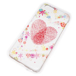 Чехол Yotrix Aquarelle для Apple iPhone 6 (Heart, пластиковый)