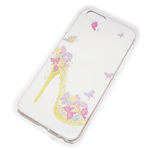 Чехол Yotrix Aquarelle для Apple iPhone 6 (Shoes green, пластиковый)