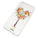 Чехол Yotrix Aquarelle для Apple iPhone 6 (Heart tree, пластиковый)