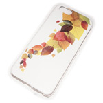 Чехол Yotrix Aquarelle для Apple iPhone 6 (Autumn leafs, пластиковый)