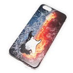 Чехол Yotrix Aquarelle для Apple iPhone 6 (Flame guitar, пластиковый)