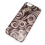 Чехол Yotrix Aquarelle для Apple iPhone 6 (Ornament brown, пластиковый)