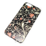 Чехол Yotrix Aquarelle для Apple iPhone 6 (Ornament flowers, пластиковый)