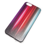 Чехол Yotrix Aquarelle для Apple iPhone 6 (Vertical colors, пластиковый)