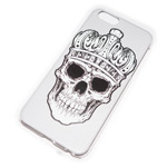 Чехол Yotrix Aquarelle для Apple iPhone 6 (Skull crown, пластиковый)