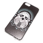 Чехол Yotrix Aquarelle для Apple iPhone 6 (Skull diamonds, пластиковый)