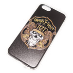 Чехол Yotrix Aquarelle для Apple iPhone 6 (Skull bondi gold, пластиковый)