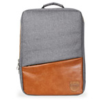 Рюкзак Remax Double Bag #398 (серый/коричневый, 2 отделения, 15-17