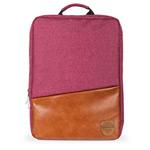 Рюкзак Remax Double Bag #398 (розовый/коричневый, 2 отделения, 15-17