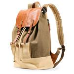Рюкзак Remax Double Bag #316 (хаки/бежевый, 1 отделение)