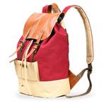 Рюкзак Remax Double Bag #316 (красный/бежевый, 1 отделение)