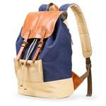 Рюкзак Remax Double Bag #316 (синий/бежевый, 1 отделение)