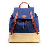 Рюкзак Remax Double Bag #311 (синий/бежевый, 1 отделение)