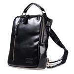 Сумка Remax Double Bag #386 универсальная (черная, кожаная, 10-11