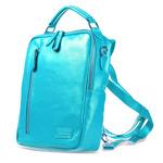 Сумка Remax Double Bag #386 универсальная (синяя, кожаная, 10-11