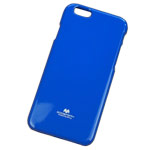 Чехол Mercury Goospery Jelly Case для Apple iPhone 6 plus (синий, гелевый)