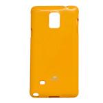 Чехол Mercury Goospery Jelly Case для Samsung Galaxy Note 4 N910 (оранжевый, гелевый)