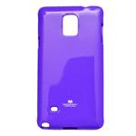 Чехол Mercury Goospery Jelly Case для Samsung Galaxy Note 4 N910 (фиолетовый, гелевый)
