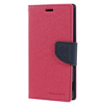 Чехол Mercury Goospery Fancy Diary Case для Sony Xperia Z3 L55t (малиновый, кожаный)