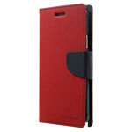 Чехол Mercury Goospery Fancy Diary Case для Samsung Galaxy Note 4 N910 (красный, кожаный)