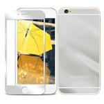 Защитная пленка Yotrix Glass NanoSlim для Apple iPhone 6 (стеклянная, серебристая)