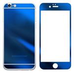 Защитная пленка Yotrix Glass NanoSlim для Apple iPhone 6 (стеклянная, темно-синяя)
