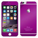 Защитная пленка Yotrix Glass NanoSlim для Apple iPhone 6 (стеклянная, фиолетовая)