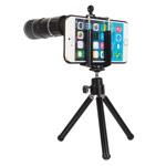 Чехол с объективом Hautik для Apple iPhone 6 (Telephoto 12X, телеобъектив, пластиковый корпус)